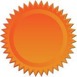 χαλκός starburst Στοκ φωτογραφία με δικαίωμα ελεύθερης χρήσης
