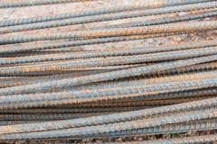 Χαλύβδινο σύρμα με το νησί σκουριάς Στοκ εικόνες με δικαίωμα ελεύθερης χρήσης