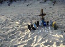 Χαμένα πέλματα Στοκ φωτογραφία με δικαίωμα ελεύθερης χρήσης