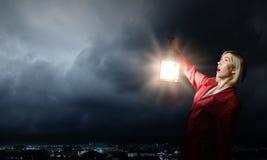χαμένη γυναίκα Στοκ φωτογραφίες με δικαίωμα ελεύθερης χρήσης