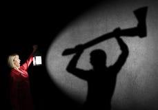 χαμένη γυναίκα Στοκ εικόνες με δικαίωμα ελεύθερης χρήσης