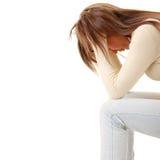 χαμένη κορίτσι αγάπη κατάθλ&i Στοκ εικόνες με δικαίωμα ελεύθερης χρήσης