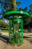 Χαμένος και φράκτης στο πάρκο Άμστερνταμ vondel Στοκ Εικόνα