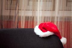 Χαμένο καπέλο Χριστουγέννων Στοκ εικόνες με δικαίωμα ελεύθερης χρήσης