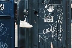 Χαμένο παπούτσι του παιδιού Στοκ Φωτογραφίες