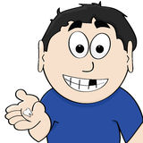 χαμένο δόντι Στοκ εικόνα με δικαίωμα ελεύθερης χρήσης