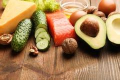 Χαμηλά προϊόντα εξαερωτήρων για την κετονογενετική διατροφή στοκ εικόνες με δικαίωμα ελεύθερης χρήσης