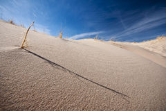 χαμηλή άμμος αμμόλοφων γωνί&al Στοκ Φωτογραφίες