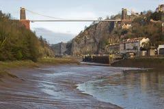 χαμηλή παλίρροια γεφυρών Στοκ εικόνα με δικαίωμα ελεύθερης χρήσης