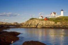 χαμηλή nubble φάρων παλίρροια Στοκ φωτογραφία με δικαίωμα ελεύθερης χρήσης