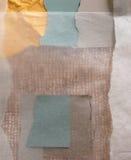 χαμηλωμένες κολάζ σκιές Στοκ Εικόνες