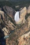 Χαμηλότερες πτώσεις, Yellowstone στοκ φωτογραφίες