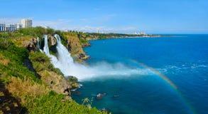 Χαμηλότερος καταρράκτης Duden, Antalya Περιοχή της Lara r στοκ εικόνες