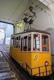 Χαμηλότερος σταθμός DA Bica Ascensor, Λισσαβώνα στοκ φωτογραφίες με δικαίωμα ελεύθερης χρήσης
