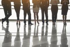 Χαμηλότερο σώμα των υπαλλήλων κατά τη διάρκεια του διαλείμματος Στοκ Εικόνες
