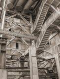 Χαμηλό βιομηχανικό τοπίο γωνίας στοκ φωτογραφίες