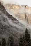 χαμηλό yosemite σύννεφων Στοκ Εικόνες