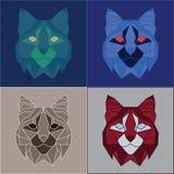 Χαμηλά πολυ bobcats καθορισμένα Στοκ Φωτογραφία