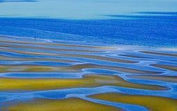 Χαμηλές παλίρροιες Στοκ Εικόνες