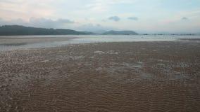 Χαμηλή αμμουδιά Vietnan παλίρροιας φιλμ μικρού μήκους