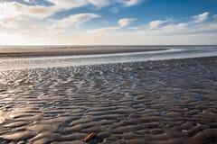 χαμηλή παλίρροια ηλιοβα&sigm Στοκ Φωτογραφίες