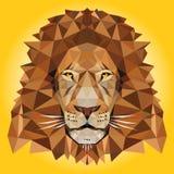 Χαμηλή πολυ απεικόνιση λιονταριών Στοκ Εικόνα