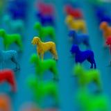 Χαμηλή πολυ τρισδιάστατη απεικόνιση σκυλιών Στοκ εικόνα με δικαίωμα ελεύθερης χρήσης