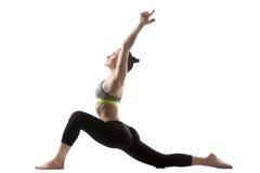 Χαμηλή lunge άσκηση Στοκ εικόνα με δικαίωμα ελεύθερης χρήσης