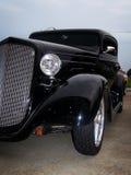 Χαμηλωμένο μαύρο Coupe στοκ φωτογραφίες με δικαίωμα ελεύθερης χρήσης