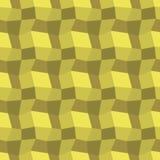 Χαμηλός πολυ κίτρινος patern Στοκ φωτογραφία με δικαίωμα ελεύθερης χρήσης