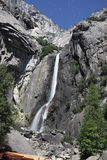 Χαμηλότερες πτώσεις Yosemite - νύχτα Στοκ Εικόνες