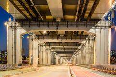 Χαμηλότερη γέφυρα καταστρωμάτων Στοκ Φωτογραφίες