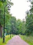 Χαμηλότερος δρόμος Peterhof στοκ εικόνα με δικαίωμα ελεύθερης χρήσης