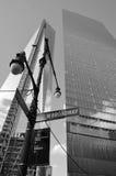 Χαμηλότερος mahattan και ένα World Trade Center Στοκ φωτογραφία με δικαίωμα ελεύθερης χρήσης