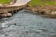 Χαμηλό πέρασμα νερού Στοκ εικόνα με δικαίωμα ελεύθερης χρήσης