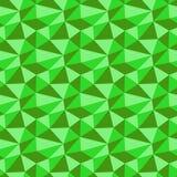 Χαμηλό πολυ πράσινο σχέδιο νέου άνευ ραφής διάνυσμα ανασκό Στοκ Φωτογραφίες