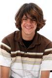 χαμογελώντας έφηβος αγ&omicr στοκ φωτογραφίες