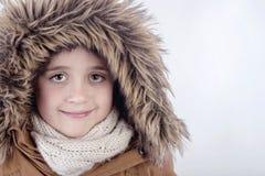 Χαμογελώντας αγόρι το χειμώνα Στοκ φωτογραφίες με δικαίωμα ελεύθερης χρήσης