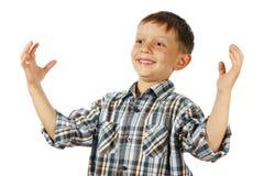 Χαμογελώντας αγόρι στοκ φωτογραφίες με δικαίωμα ελεύθερης χρήσης