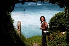 Χαμογελώντας ασιατική γυναίκα Στοκ εικόνες με δικαίωμα ελεύθερης χρήσης