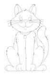 Χαμογελώντας γάτα Στοκ εικόνες με δικαίωμα ελεύθερης χρήσης