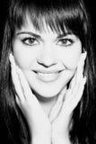 χαμογελώντας γυναίκα Στοκ Φωτογραφίες