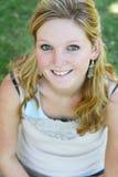χαμογελώντας γυναίκα Στοκ Φωτογραφία