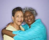 χαμογελώντας γυναίκες Στοκ Εικόνες