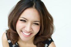 χαμογελώντας γυναίκες Στοκ φωτογραφία με δικαίωμα ελεύθερης χρήσης