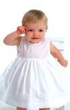 χαμογελώντας μικρό παιδί κοριτσιών στοκ φωτογραφία με δικαίωμα ελεύθερης χρήσης