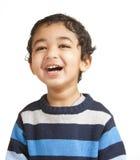 χαμογελώντας μικρό παιδί π& στοκ εικόνες
