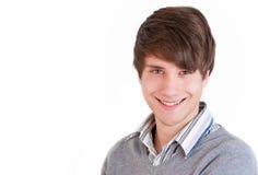 Χαμογελώντας νεαρός άνδρας στοκ εικόνα με δικαίωμα ελεύθερης χρήσης