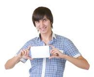 Χαμογελώντας νεαρός άνδρας στοκ εικόνα