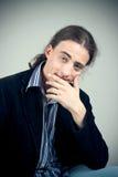 Χαμογελώντας νεαρός άνδρας Στοκ Εικόνες